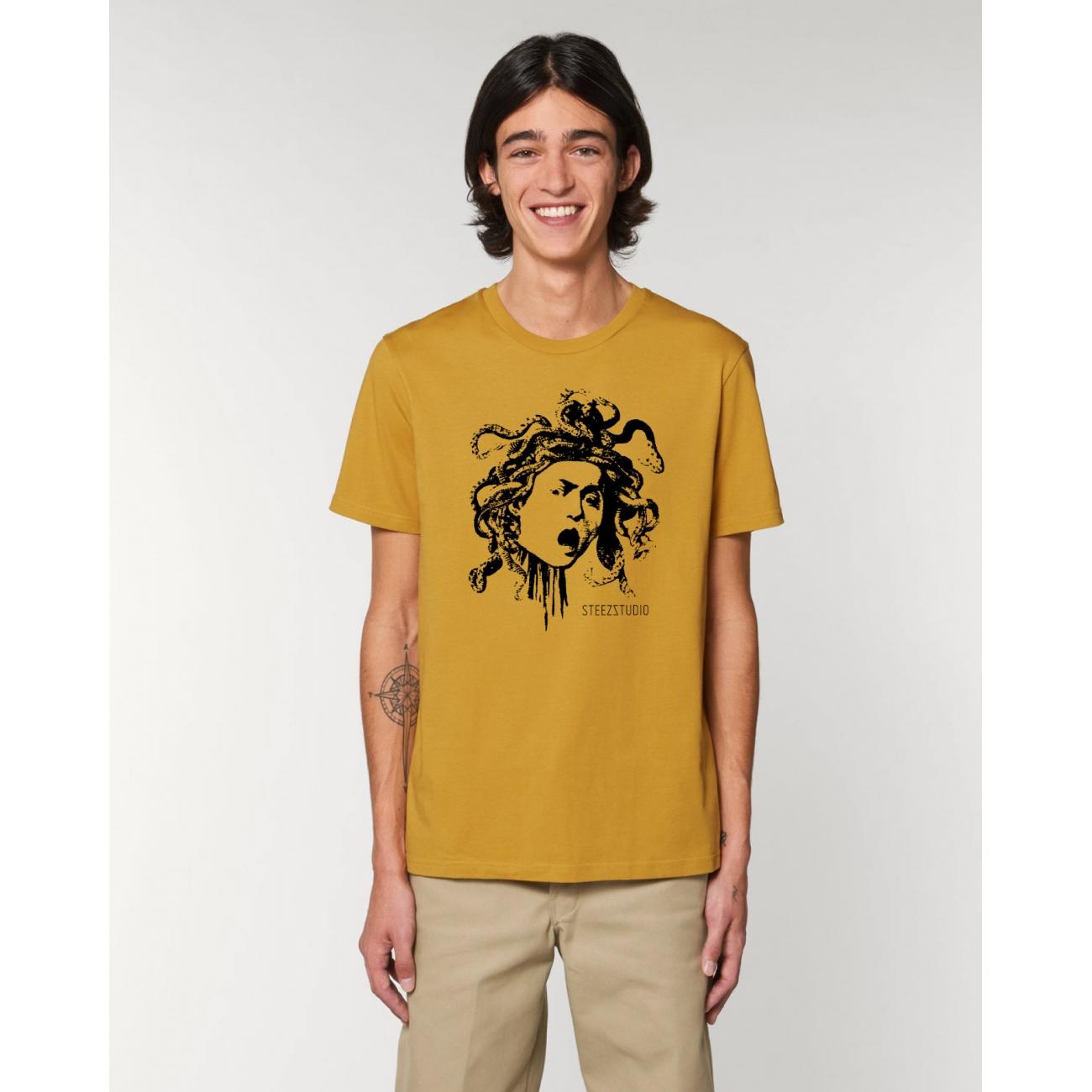https://tee-shirt-bio.com/10326-thickbox_default/tee-shirt-homme-coton-bio-col-rond-coupe-classique-jaune-ocre-impression-meduse-caravage.jpg