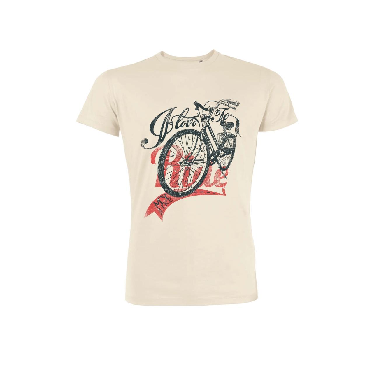 tee shirt coton bio rider blanc vintage leads 88. Black Bedroom Furniture Sets. Home Design Ideas