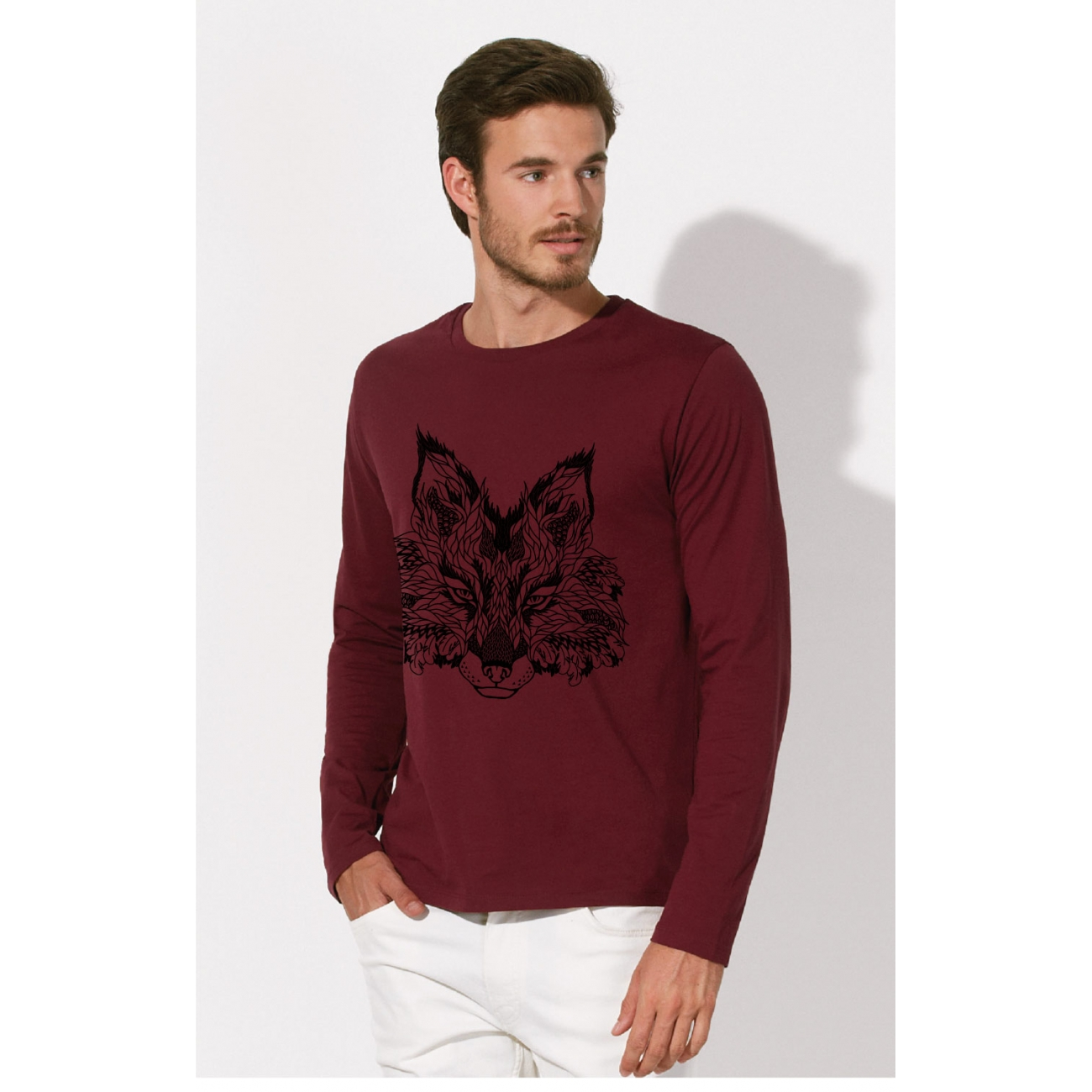 https://tee-shirt-bio.com/4437-thickbox_default/manches-longues-tee-shirt-homme-100-coton-bio-doux-equitable-bordeaux-imprime-loup.jpg