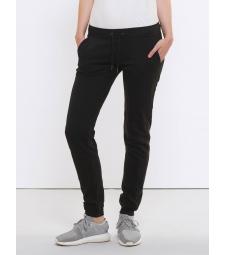 Pantalon de Jogging en coton Bio,noir pour Femme
