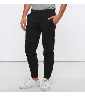 Pantalon de Jogging en coton Bio, Noir pour Homme