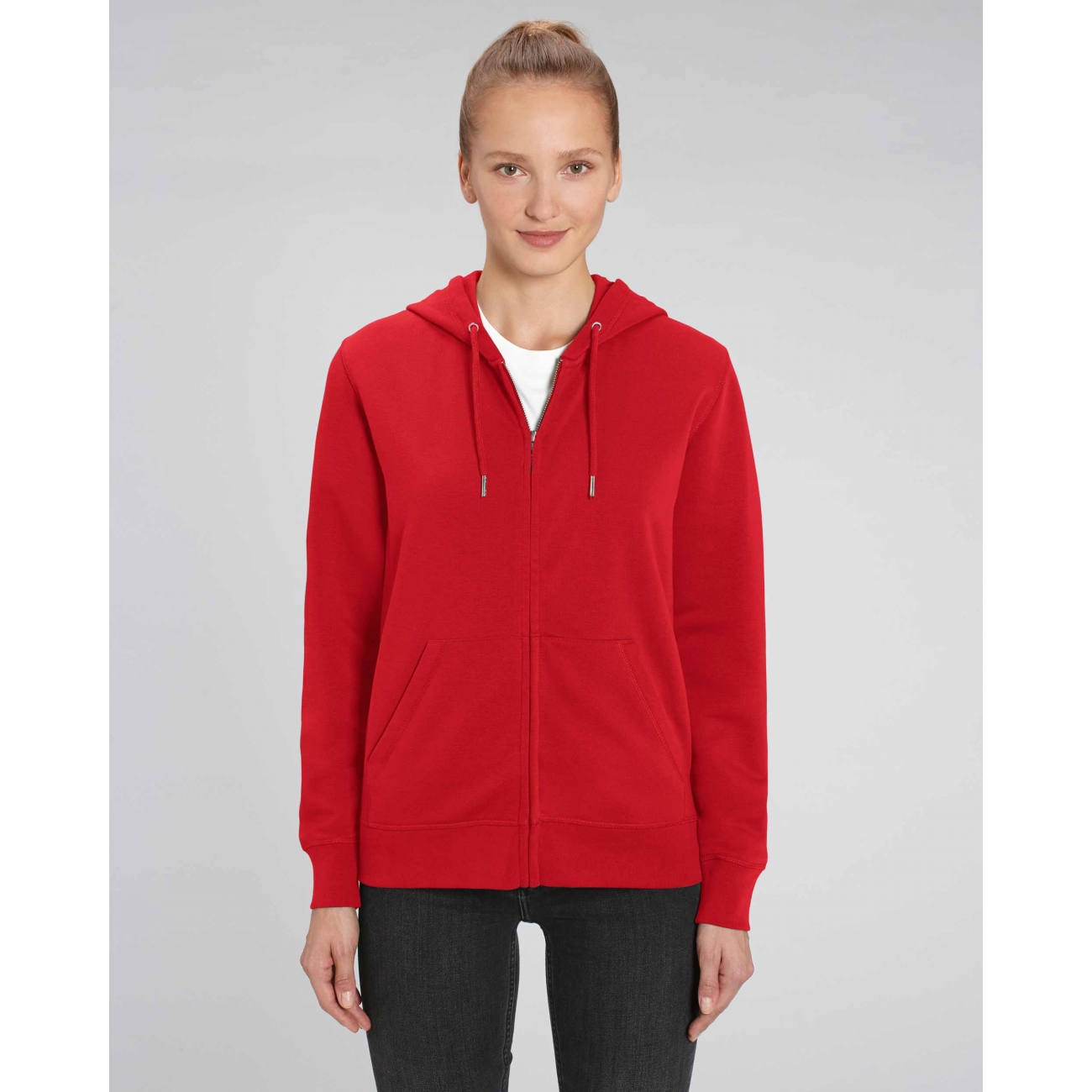 https://tee-shirt-bio.com/7794-thickbox_default/veste-a-capuche-zippee-legere-coton-bio-femme-rouge-connector.jpg