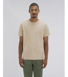 TEE-SHIRT Homme épais 220g coton bio couleur sable