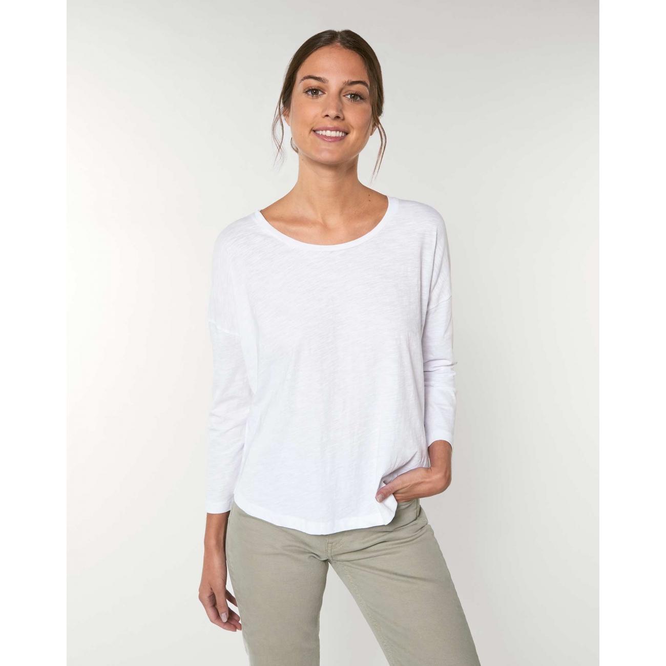 https://tee-shirt-bio.com/9199-thickbox_default/tshirt-femme-manches-34-epaules-tombantes-manches-serrees-coton-bio-fwf-blanc-flamme-.jpg