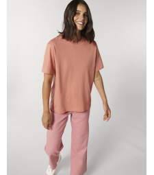 TEE-SHIRT coupe ample femme - rose