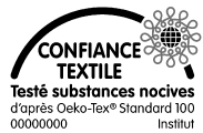 Label  textile confiance textile sans substances nocives