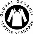 label textile bio global organic