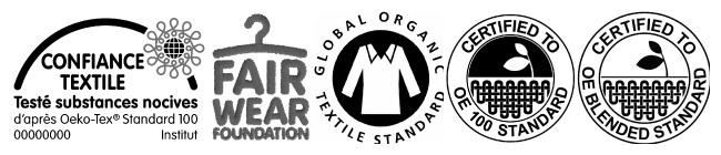 Labels textile bio équitable éthique